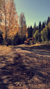 Transport og Graving - Jan Tore Tømte Hurdal og Eidsvoll - Gravemaskin